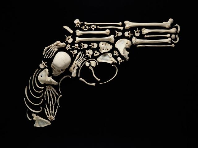 StoptheViolence_FrancoisRobert_Gun