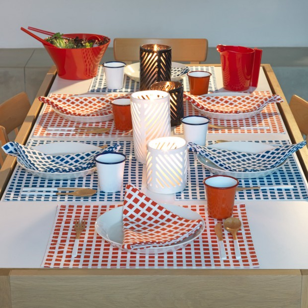 A 4th of July table