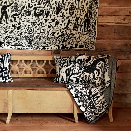 Knit Blankets and Throw Pillows - Harvest