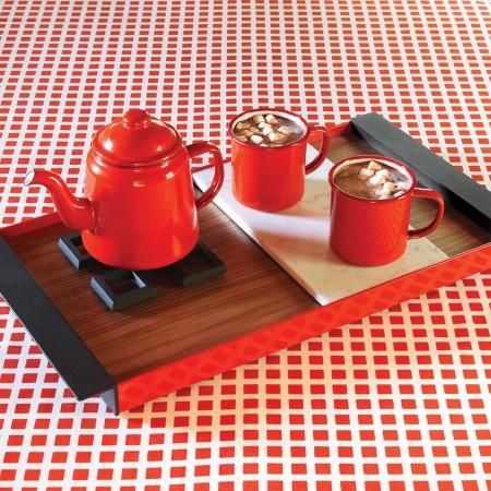 Red Tea Set - Falcon