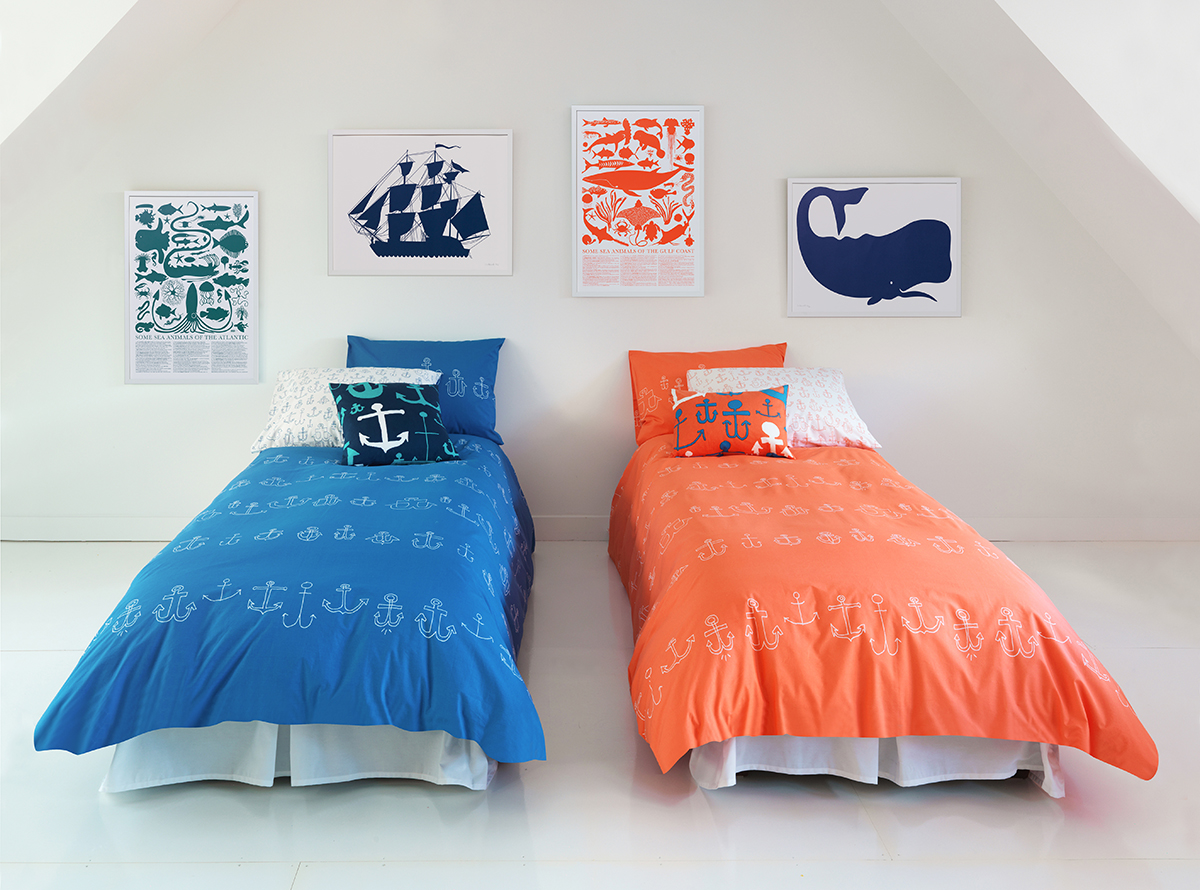 anchor_coral_blue_bedding_blog