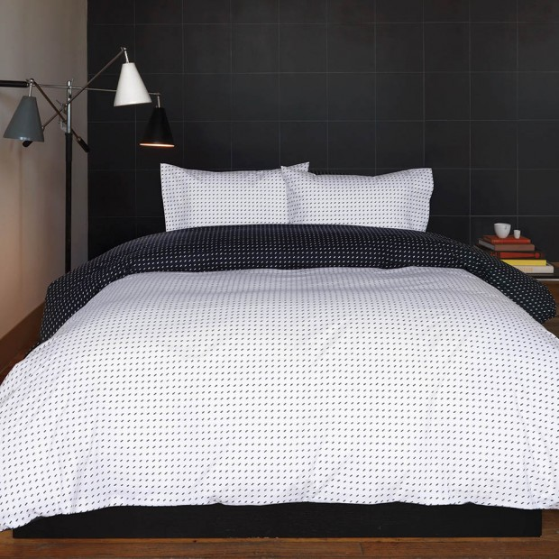 Bedding in Black and White