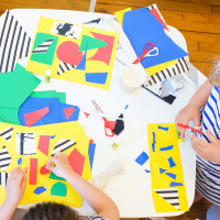Kid's Collage Event with Chad Kouri