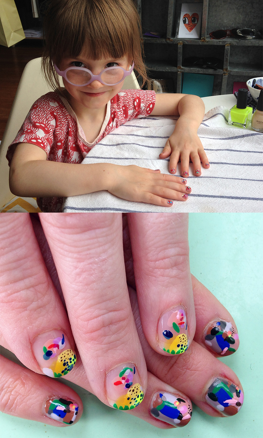 ART + FUNCTION + FANCY NAILS = THE MANY TALENTS OF HILLERY SPROATT ...