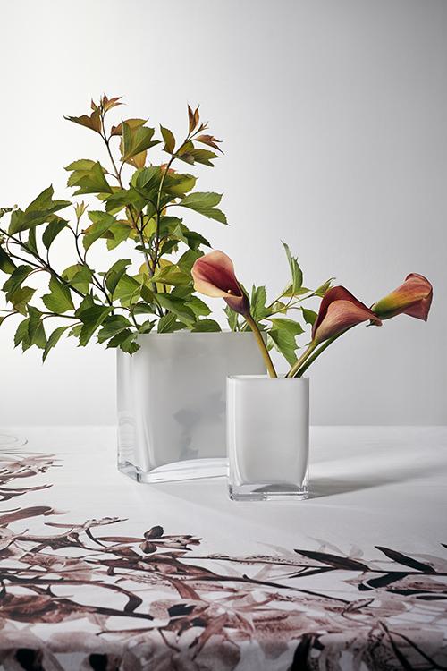 Modular White Vases for the Holidays