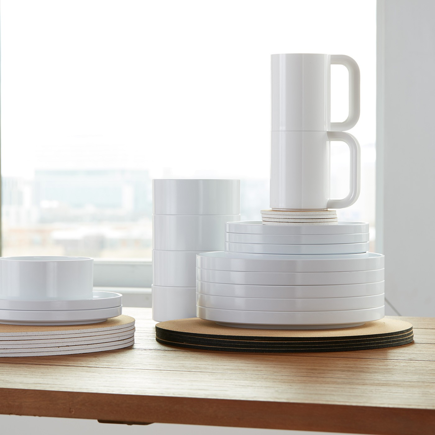 Heller Stackable Dinnerware & The Story of Heller: Massimo Vignelli and His Modern Dinnerware ...